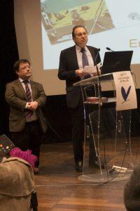 maires adjoints, le Dr Frédéric Morand et Pierre Deniziot en charge respectivement de la santé et des personnes handicapées.