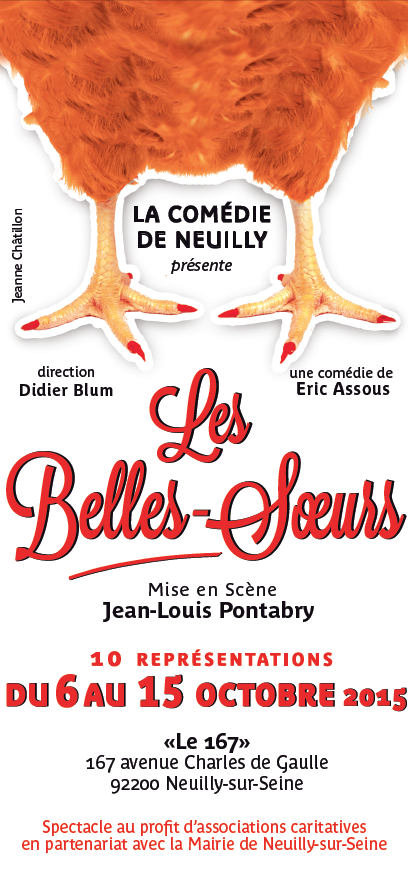 couv flyer comedie de neuilly