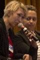 Isabelle Lauberthe, membre d'ALIS, Solange Burabuyo, soc Auxiliaris